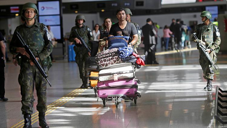 """Río 2016: Olvida su maleta y la Policía la detona por resultar """"sospechosa"""""""