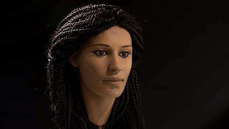 Video: 'Devuelven a la vida' a una joven egipcia momificada hace 2.000 años