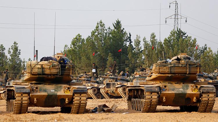 """EE.UU. afirma que Turquía permanecerá en Siria """"el tiempo que haga falta"""""""