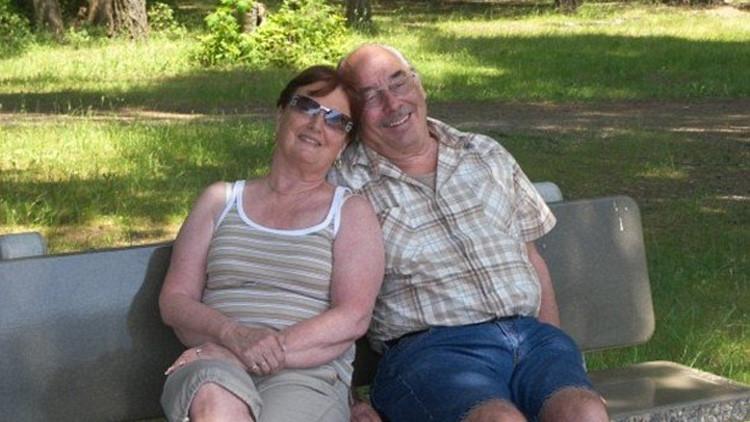"""""""La foto más triste"""": una pareja es obligada a estar separada después de 62 años de matrimonio"""