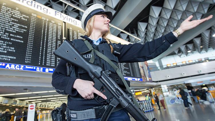 Evacuan el aeropuerto en Fráncfort por una amenaza de bomba