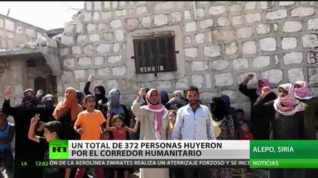 Alepo, entre la asistencia humanitaria y ataques químicos