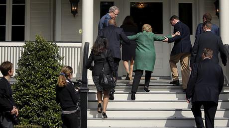 Hillary Clinton durante una visita a Carolina del Sur el 24 de febrero de 2016.