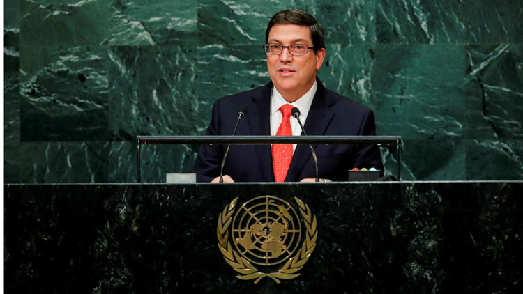 """Canciller cubano ante la ONU: """"El capitalismo nunca será histórica ni ambientalmente sostenible"""""""