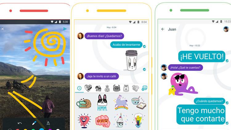 Estas son las nuevas características de Allo, la aplicación que pretende destronar a WhatsApp