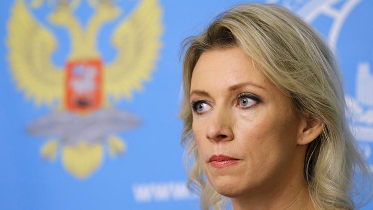 """Zajárova: """"El coqueteo con el Frente al Nusra le saldrá mal a EE.UU."""""""