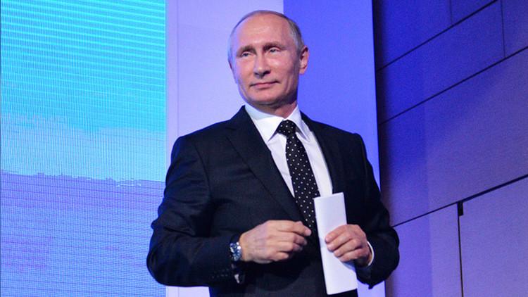 Vladímir Putin explica por qué ha cancelado su visita a Francia