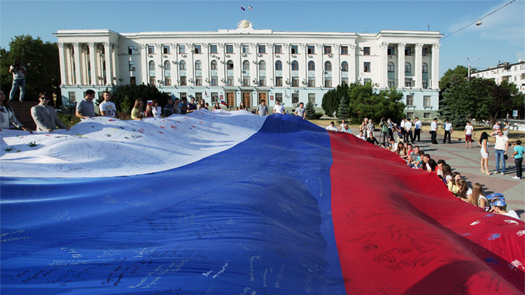 "Siria: ""Crimea es parte integral de Rusia"""