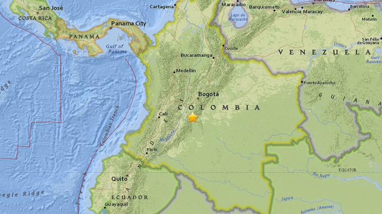 Un sismo de magnitud 5,4 sacude Colombia (Fotos y Videos)
