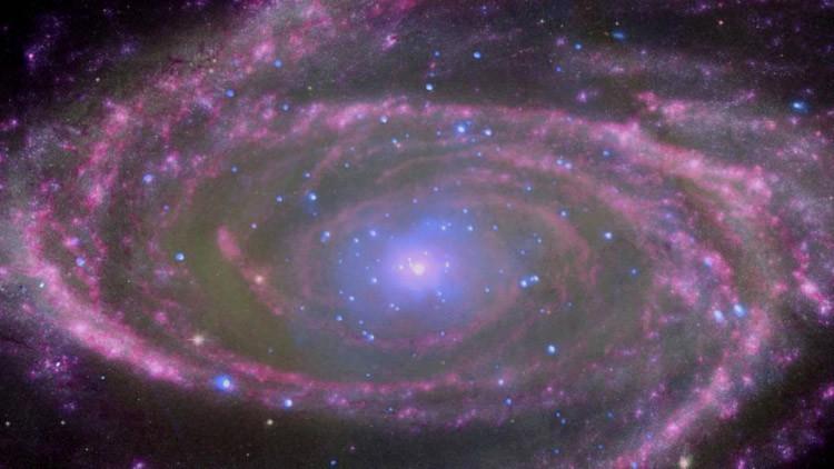La NASA muestra qué le ocurre a una galaxia cuando es devorada por un agujero negro