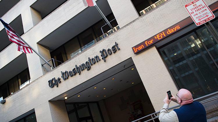 'The Washington Post' reconoce la poca fiabilidad de su fuente que denunció la 'propaganda rusa'