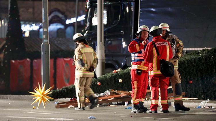 """Testigo del ataque en el mercado navideño de Berlín: """"Estábamos a unos tres metros de la muerte"""""""