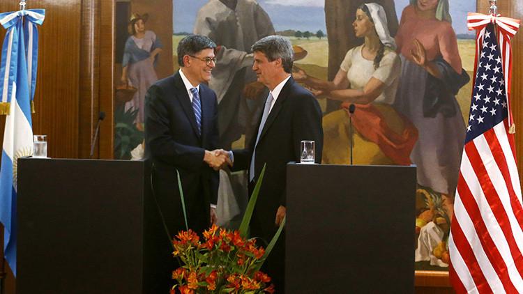 Argentina y EE.UU. acuerdan intercambiar información tributaria