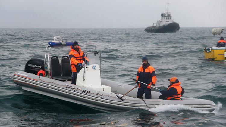 Video: Más de 3.000 personas, implicadas en la búsqueda del Tu-154 siniestrado en el mar Negro