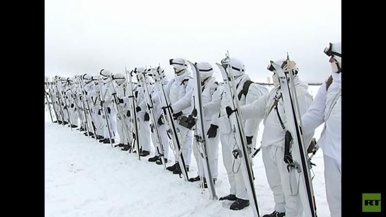 Con 'huskies' y renos: Las tropas árticas rusas, a la vanguardia de la seguridad nacional (Video)