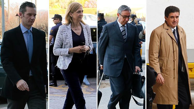 Caso Nóos: nombres y condenas de los principales acusados