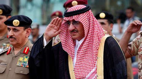 El príncipe heredero de Arabia Saudita, Mohammed bin Nayef.