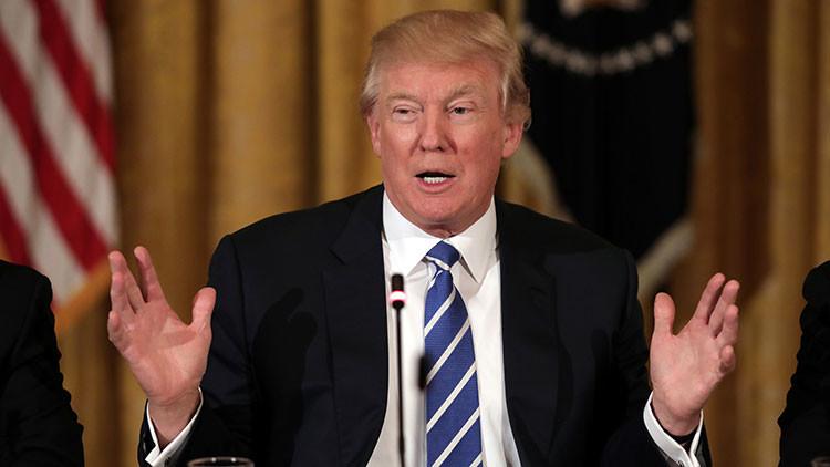 """Trump: """"EE.UU. no tolerará provocaciones de la Armada iraní"""""""