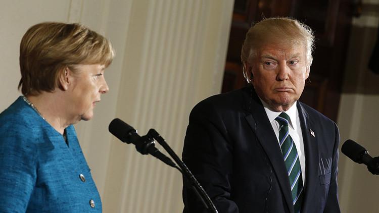 Merkel se preparó para el encuentro con Trump leyendo 'Playboy'