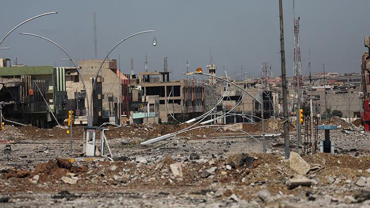 Un residente de Mosul comparte los horrores del bombardeo de la coalición internacional