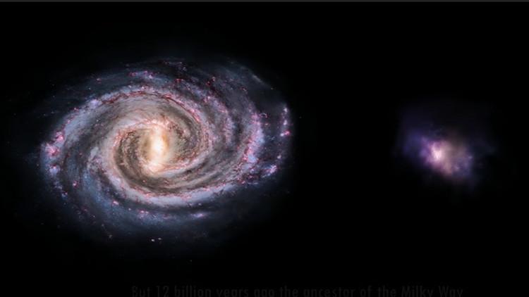 Hallan 'muerta' una gigantesca galaxia 'gemela' de la Vía Láctea