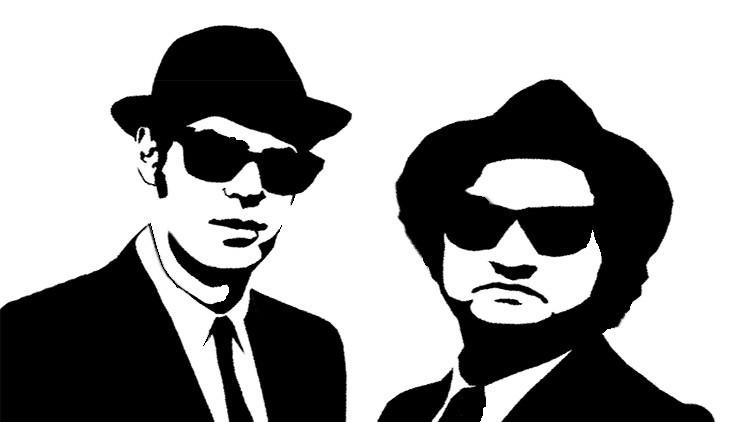 Los hombres de sombreros negros y gafas de sol que han conquistado los corazones de todo el mundo