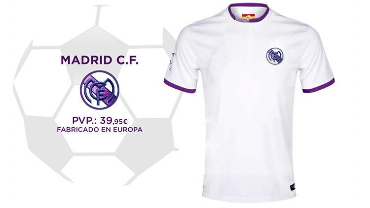 España: Un tribunal autoriza la versión republicana de la camiseta del Real Madrid
