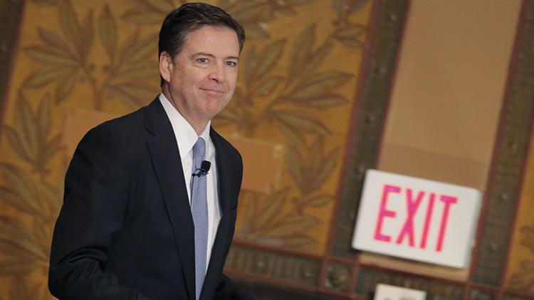Esta es la insólita forma en que el ahora exdirector del FBI se enteró de su destitución