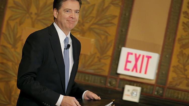 """Exdirector del FBI: """"El presidente podía despedirme sin ninguna razón"""""""