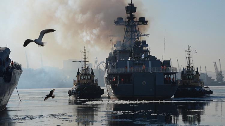 Video: La Marina rusa exhibe para qué está preparando a su Flota del Pacífico