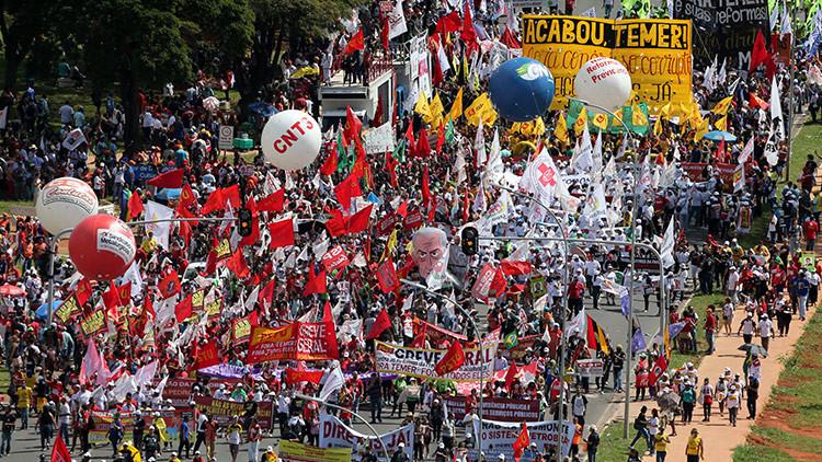 """""""Para la burguesía brasilera no hay forma de mantener a Temer en el poder"""""""
