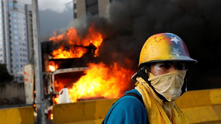 ¿Quién financia la violencia opositora en Venezuela?