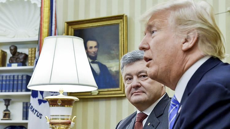 """Tres insultantes letras: El """"desafortunado desliz"""" de Trump que """"más odian"""" los ucranianos"""