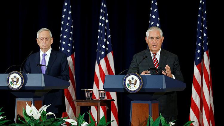 "Tillerson: ""Washington y Pekín instan a una desnuclearización inmediata de la península coreana"""