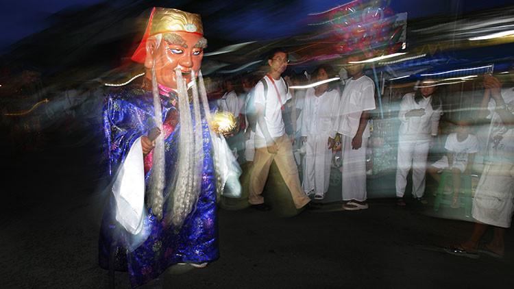 Despliegan agentes para defender una aldea de un fantasma 'carnicero' en Tailandia