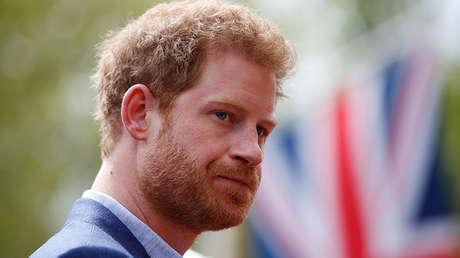 El príncipe Enrique de Gales
