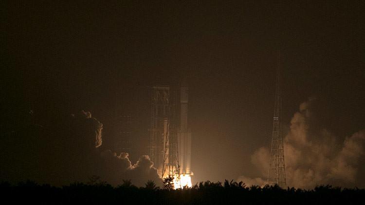 VIDEO: China lanza un cohete con un satélite, pero este no alcanza la órbita