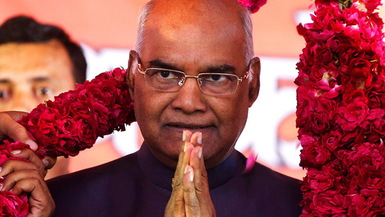 El nuevo presidente de la India será un 'intocable'