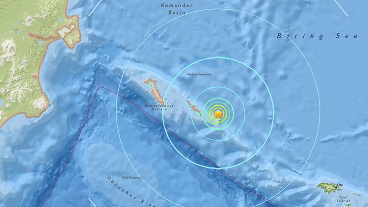 Un terremoto de magnitud 6,2 sacude el Lejano Oriente ruso