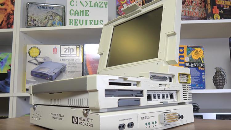 Video de un portátil que costó 20.000 dólares hace casi 20 años se hace viral