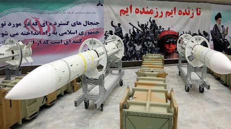 Un misil Sayyad-3