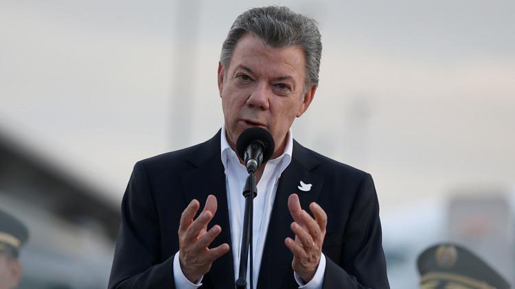 Juan Manuel Santos solicita a EE.UU. que descarte una intervención militar en Venezuela