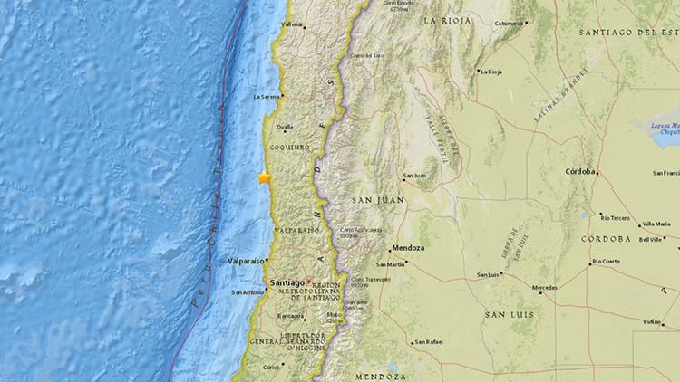 Sismo sacude el norte de Chile