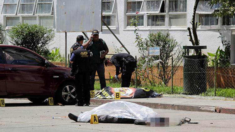 Brutal ataque de la Mara Salvatrucha contra un hospital en Guatemala (FOTOS18+)