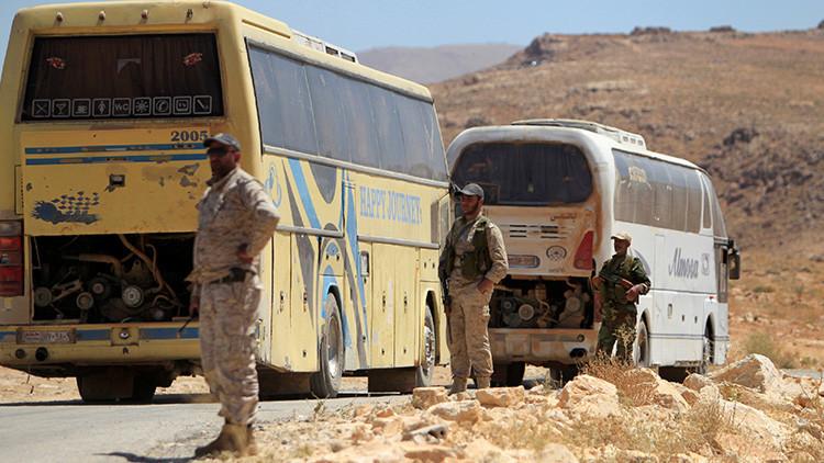 Terroristas del Estado Islámico empiezan a capitular ante Hezbolá en Siria