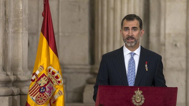 Fuerte mensaje del rey Felipe VI tras el atentado en Barcelona