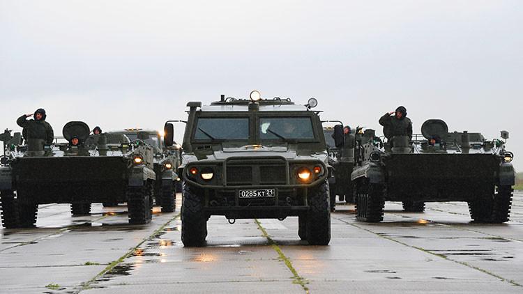 Los militares rusos recibirán un 'smartphone blindado' con ruedas