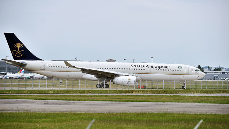Prohíben que un avión de Arabia Saudita de transporte de peregrinos aterrice en Catar
