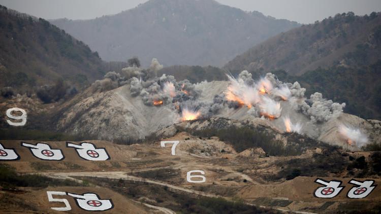 """Pionyang: """"Nadie garantiza que el simulacro de Washington y Seúl no se convierta en una guerra real"""""""