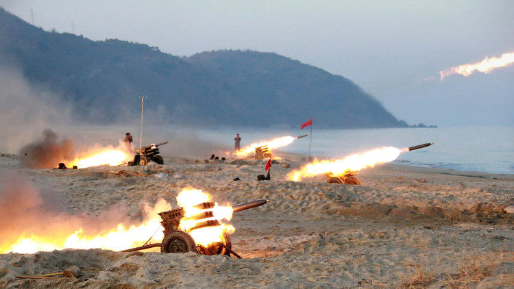 Rusia insta a las partes implicadas en la crisis coreana a reducir sus actividades militares